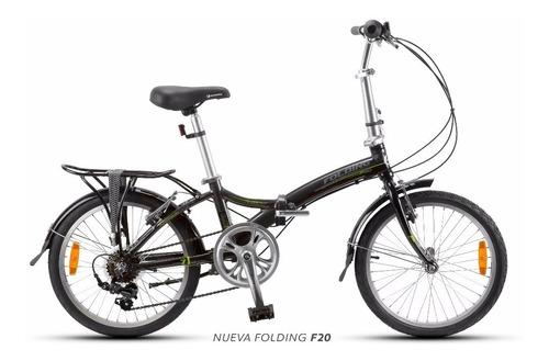 bicicleta eléctrica plegable aurora f20. test drive palermo