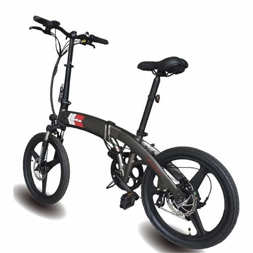 bicicleta electrica plegable beta smart