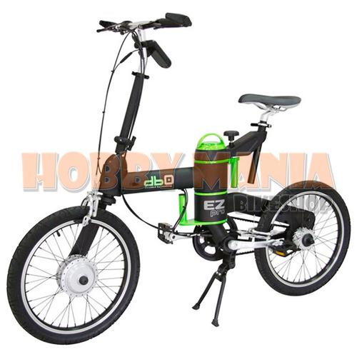 bicicleta electrica plegable db0 ez pro 20er 250w 40km auton
