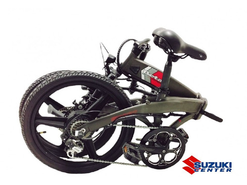 bicicleta electrica plegable disco beta smart betancenter