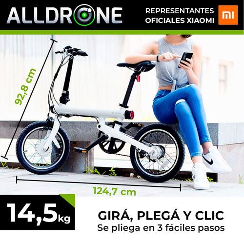 bicicleta electrica plegable xiaomi qicycle 6 cuotas s/ int