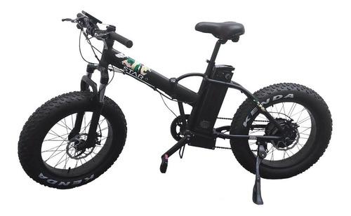bicicleta eléctrica star fat bike tibo uruguay