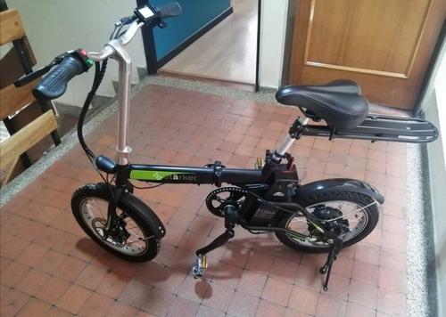 bicicleta eléctrica starker auteco one