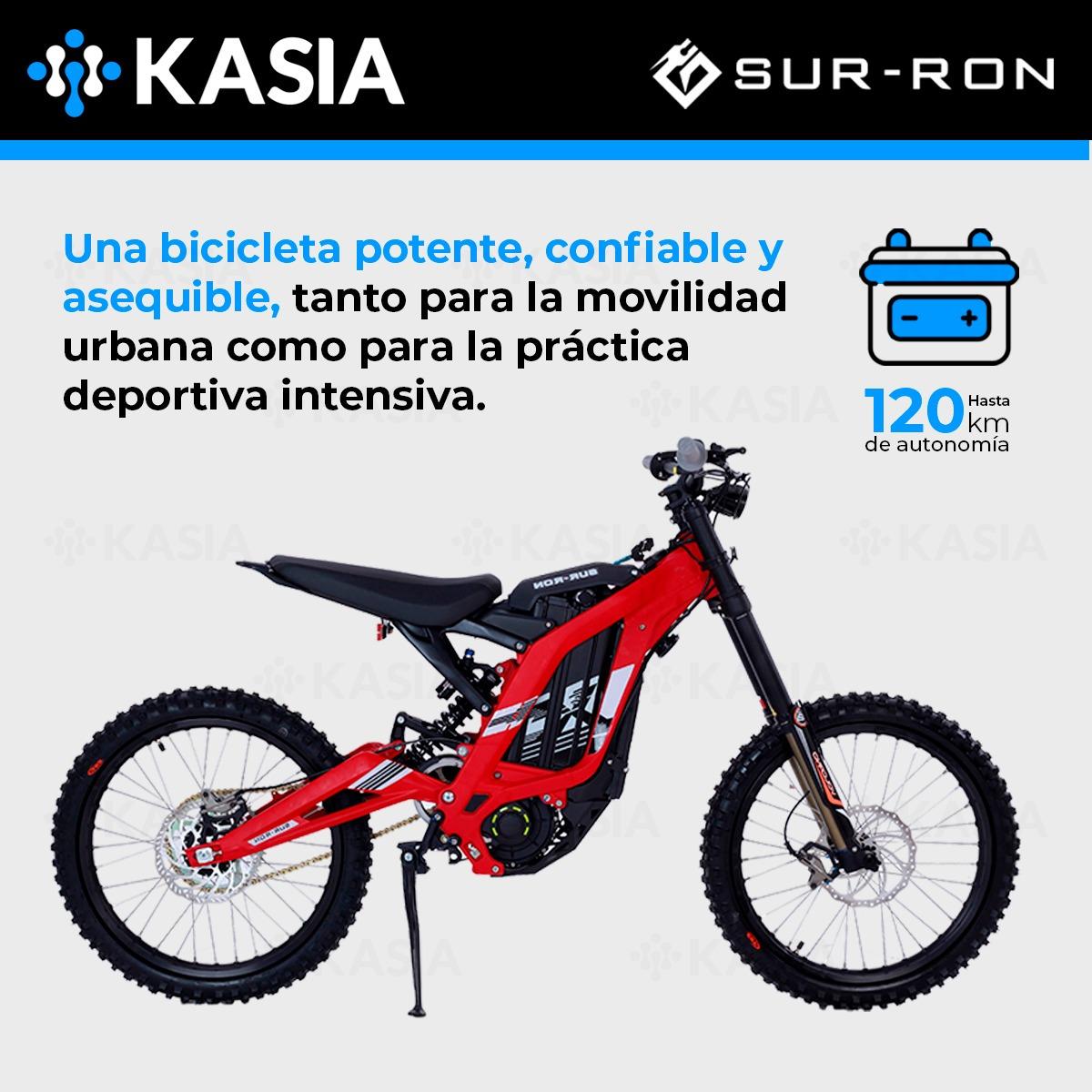 Bicicleta Electrica Sur-ron Light Bee X Motor 3600w Roja