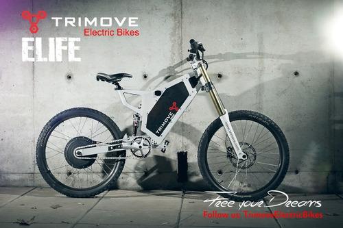 bicicleta electrica trimove ebike 1000w r    55 km/h   unica