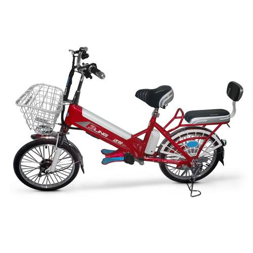 bicicleta eléctrica urban 350w rin20 asientos para pasajero