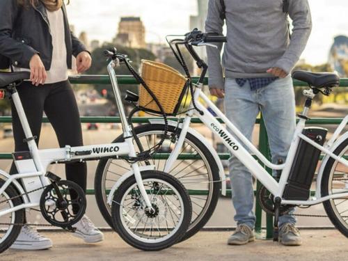 bicicleta eléctrica winco classic en zona norte pilar