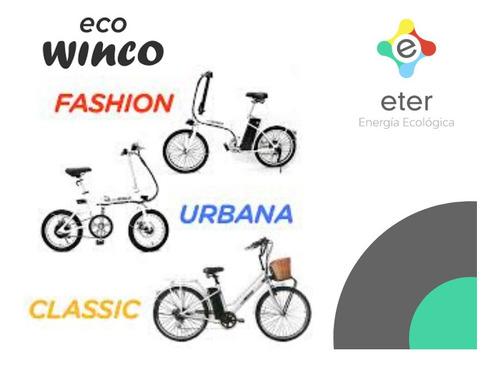 bicicleta eléctrica winco classic zona norte pilar