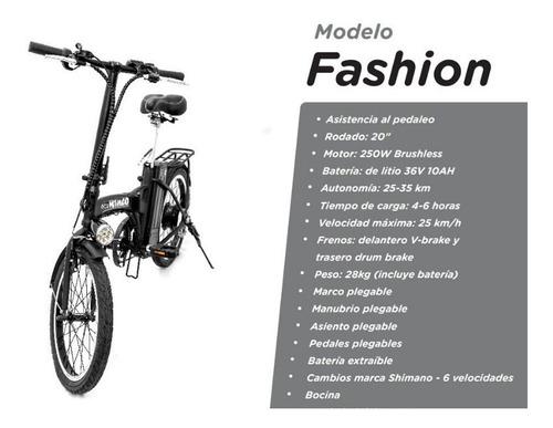 bicicleta eléctrica winco fashion zona norte pilar
