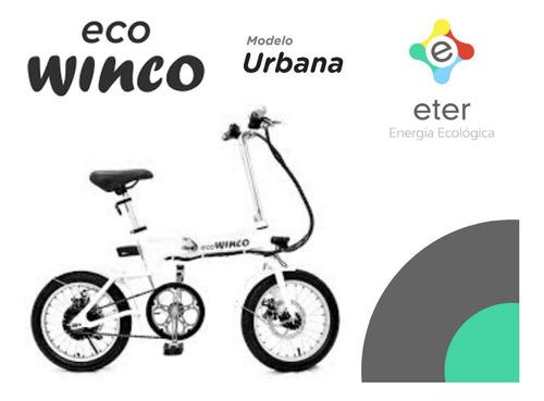 bicicleta eléctrica winco urbana pilar zona norte