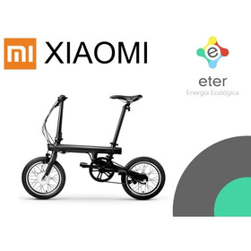 Bicicleta Eléctrica Xiaomi Qicycle Versión Inter. Zona Norte