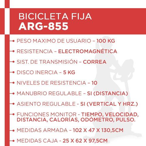 bicicleta electromagnética randers arg855