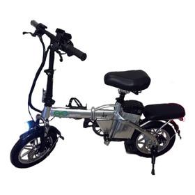 Bicicleta Elétrica Aro 14 Dobrável E-bike Lítio 384w - Jkr