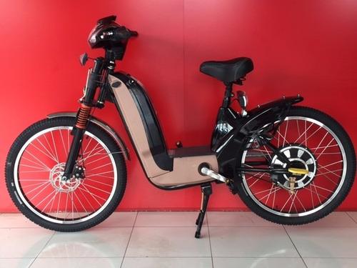 bicicleta elétrica motorizada sport 350 w 48v  v com alarme