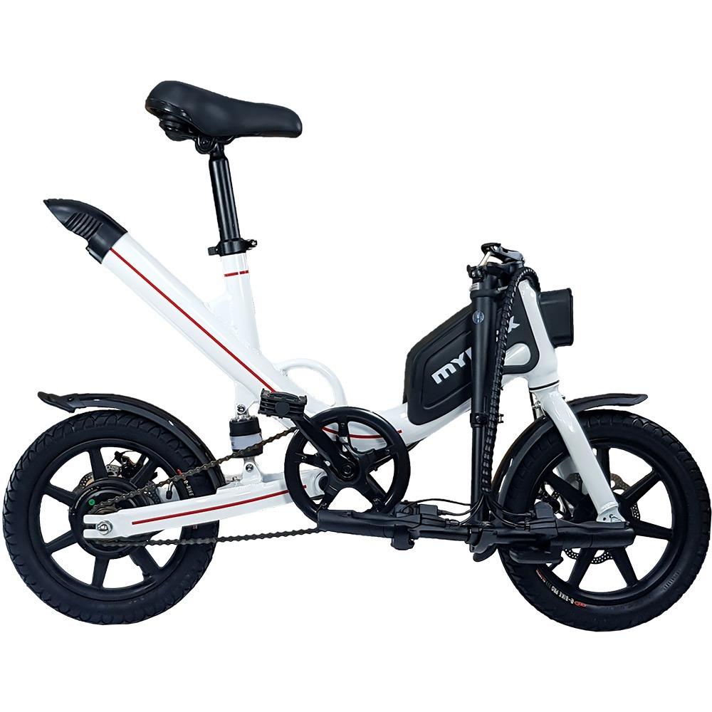 0a2e7a4cb bicicleta eletrica way aro 14 com pedal aut. ate 35km preto. Carregando  zoom.