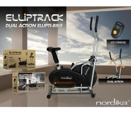 bicicleta elíptica elliptrack nordika.
