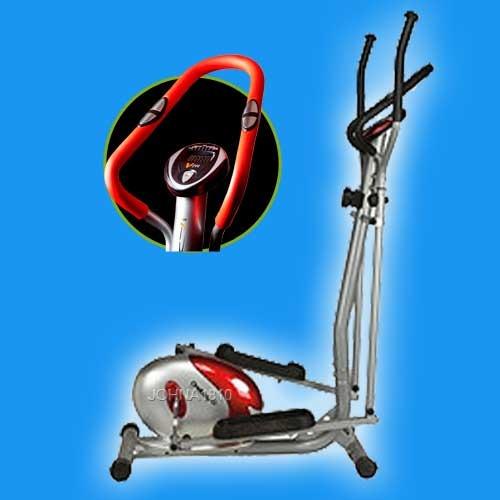 bicicleta eliptica magnetica cross trainer multifuncional
