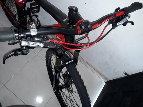 bicicleta en carbono gw panther.