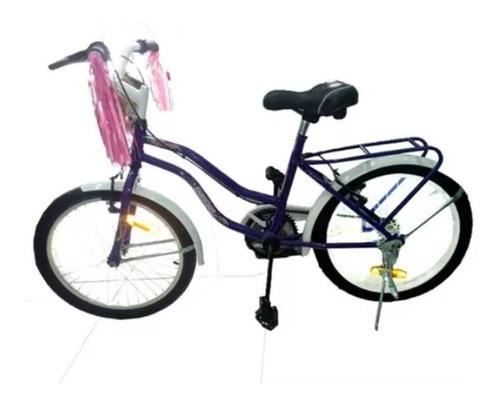 bicicleta enrique r20 dama star - aj hogar
