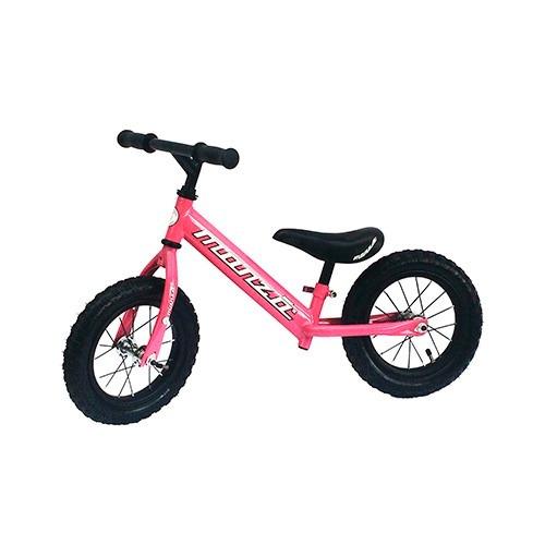 bicicleta entrenadora fucsia