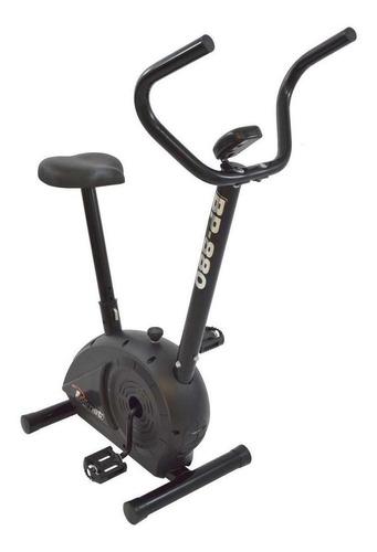 bicicleta ergométrica vertical polimet bp-880 preta