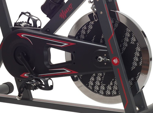 bicicleta estacionaria spinning muvo de oxford