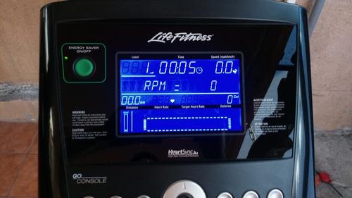 bicicleta estatica life fitness c1