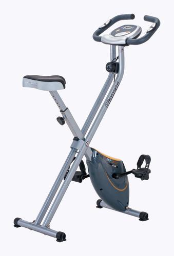 bicicleta estática magnética bianchi plegable  mp - 500