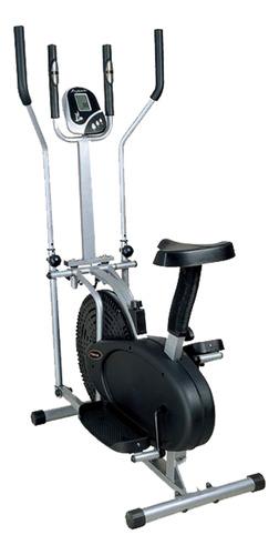 bicicleta estatica orbitreck 2en1 eliptica / panel digita