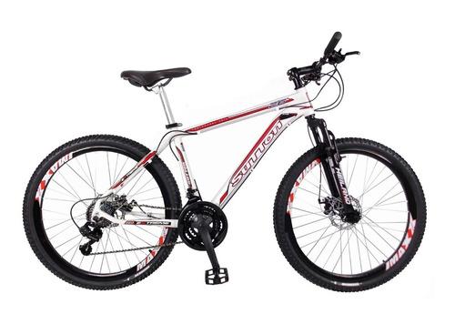 bicicleta extreme aro 26 freio disco + kit shimano cannon