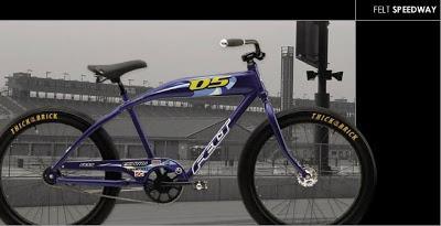 bicicleta felt speedway 05 con cambios integrados