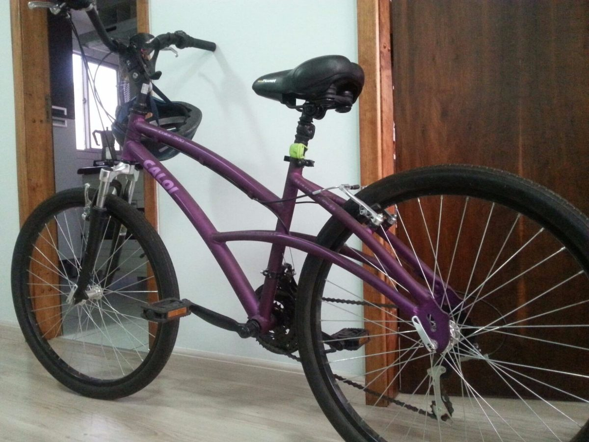 57157484c bicicleta feminina caloi 500 aro 26 roxa. Carregando zoom.