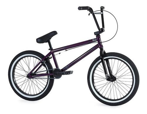 bicicleta fiend bmx type o ¡cubiertas anchas pro! violeta