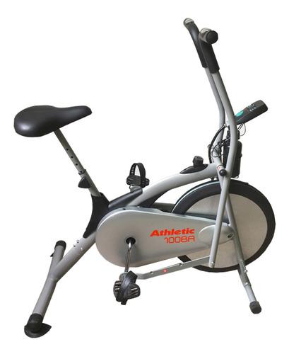 bicicleta fija air bike athletic mov. brazos