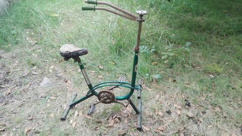 bicicleta fija antigua graziella