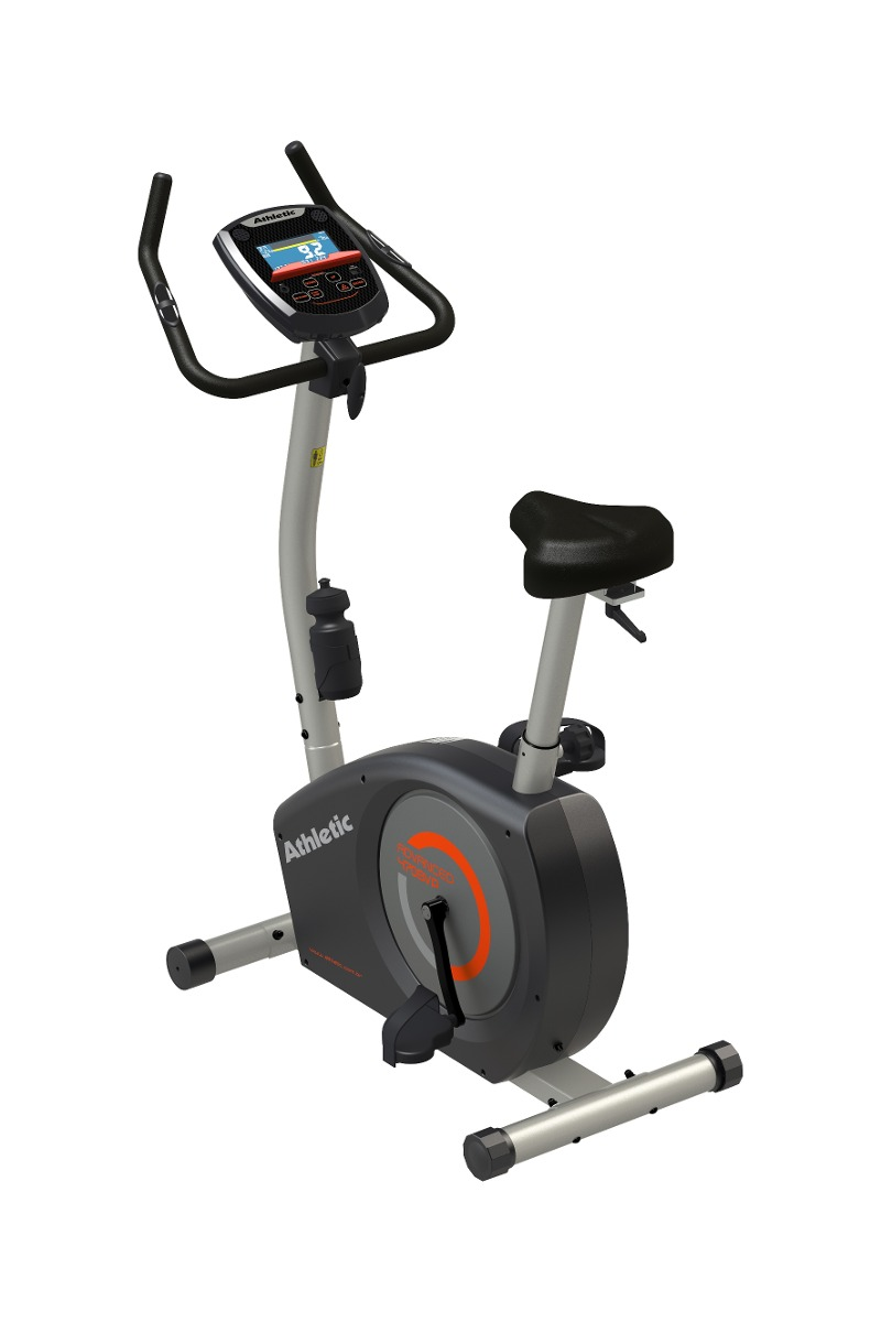 bicicleta fija athletic 470bvp electromagnetica 16 niveles. Cargando zoom. f51997fbf6f67