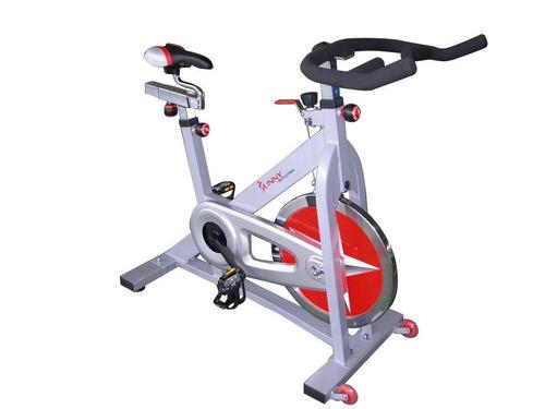 bicicleta fija ejercicio sunny health & fitness spinning vbf