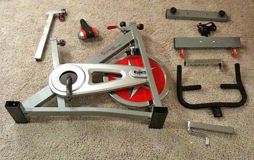 bicicleta fija fitness spinning