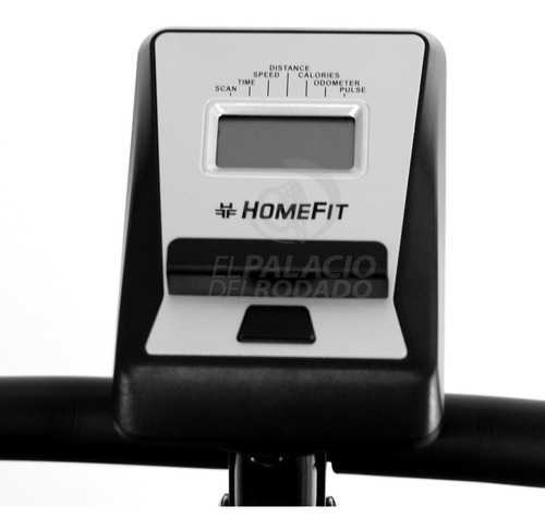 bicicleta fija homefit magnética monitor electrónico reg f1