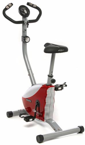 bicicleta fija olmo magnetica con pulso hasta 100 kg fitness