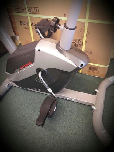 bicicleta fija randers monitor pulso calorías arg137 compact