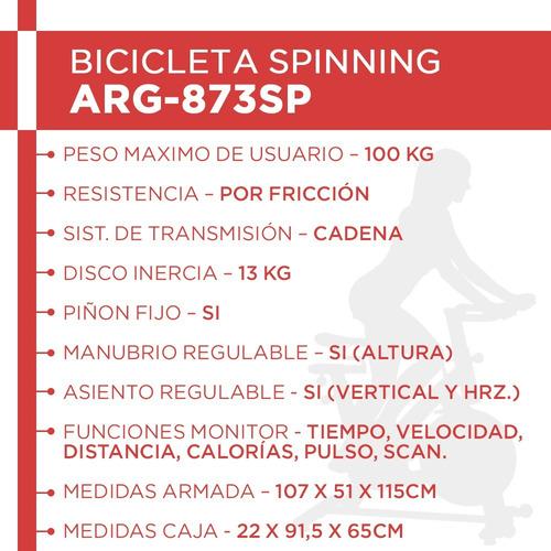 bicicleta fija spinning randers