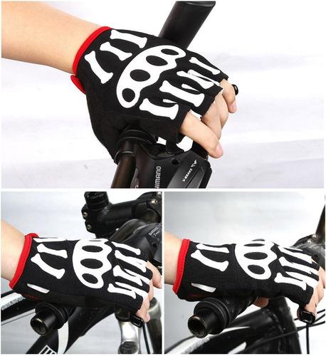 bicicleta fitness guantes ciclismo
