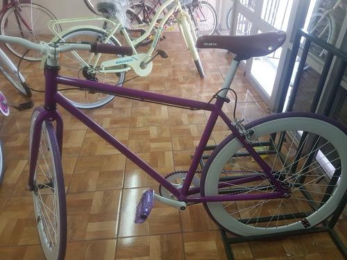 bicicleta fixie piñon fijo y liberado