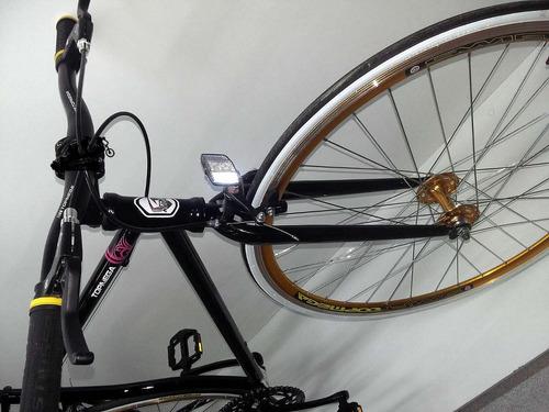 bicicleta fixie rodado 28 top mega media carrera