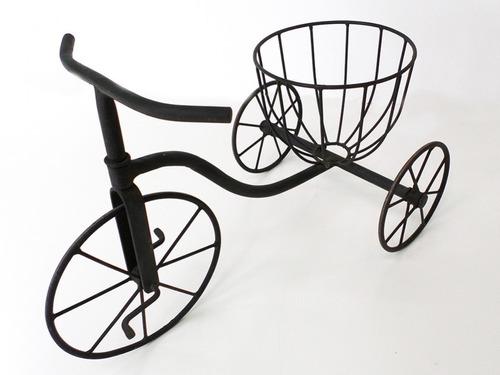 bicicleta floreira para jardim de ferro florbele
