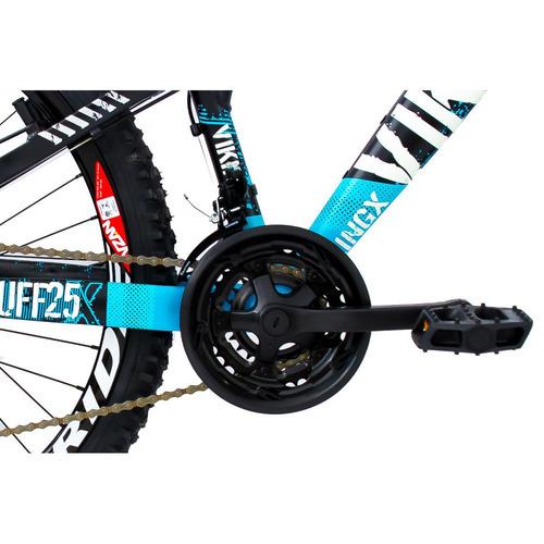 bicicleta freeride aro 26 freio à disco - vikingx