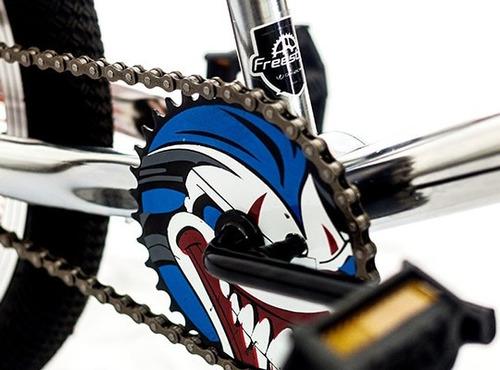 bicicleta freestyle bmx rollback gribom r-20 rotor 140 rayos