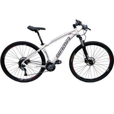 bicicleta gama aro 29 com kit 27 macha acera e freio hi