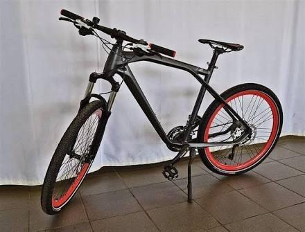 bicicleta genuine bmw cruise m bike gris mate rojo talla m. Black Bedroom Furniture Sets. Home Design Ideas